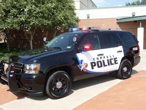 Coppell Police SUV