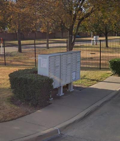 An example of a USPS Cluster Mailbox